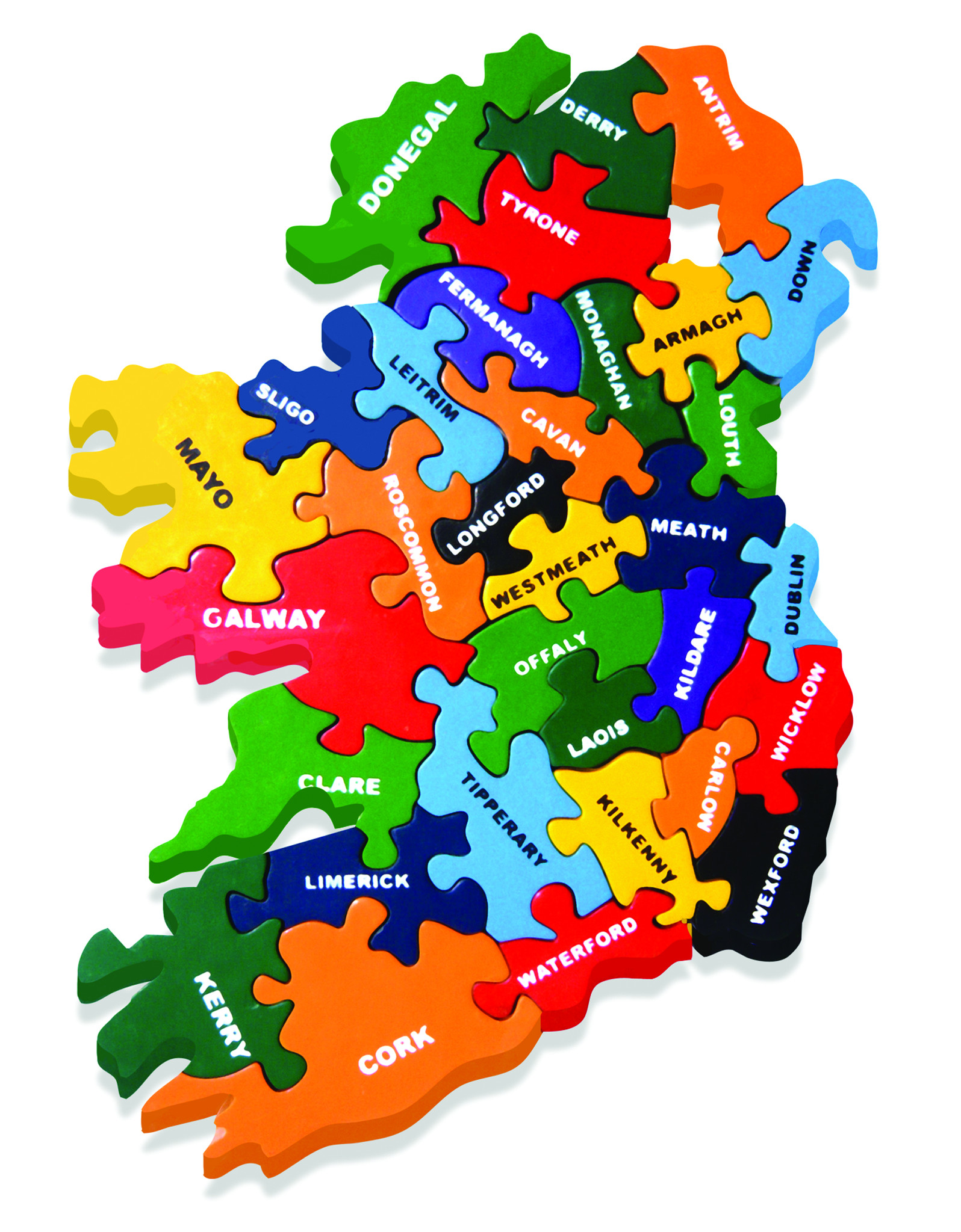 Images Of Map Of Ireland.Map Of Ireland Jigsaw Rosslare Pharmacy