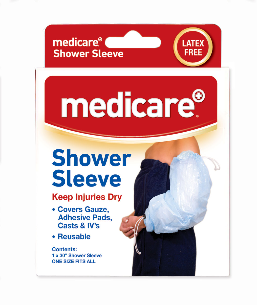 Medicare shower sleeve rosslare pharmacy for Does medicare cover bathroom equipment